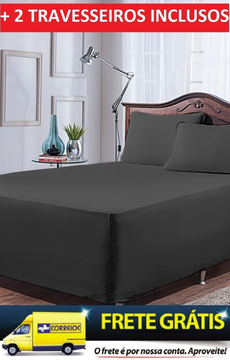 35c33f259d jogo de lençol cama box casal king + 2 travesseiros. Carregando zoom.