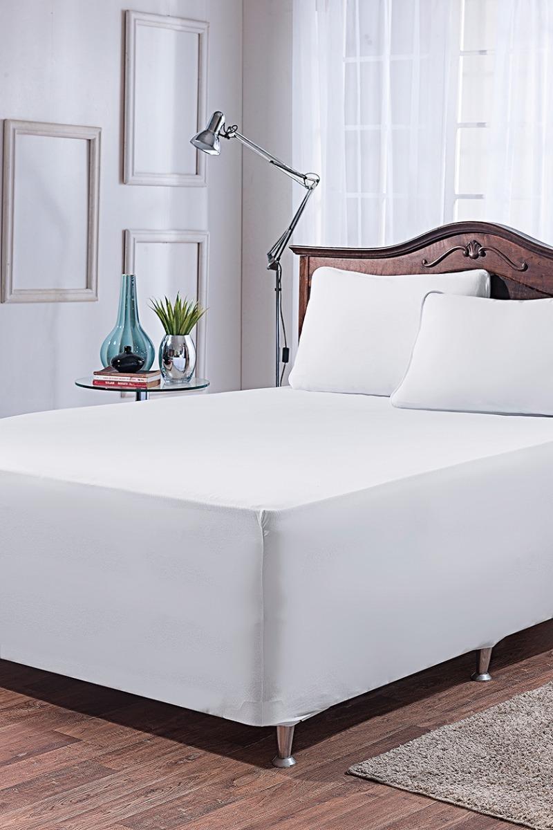 a31e561f6 Jogo de lençol cama box solteiro cor branco jpg 800x1200 Cama box solteiro  lencol