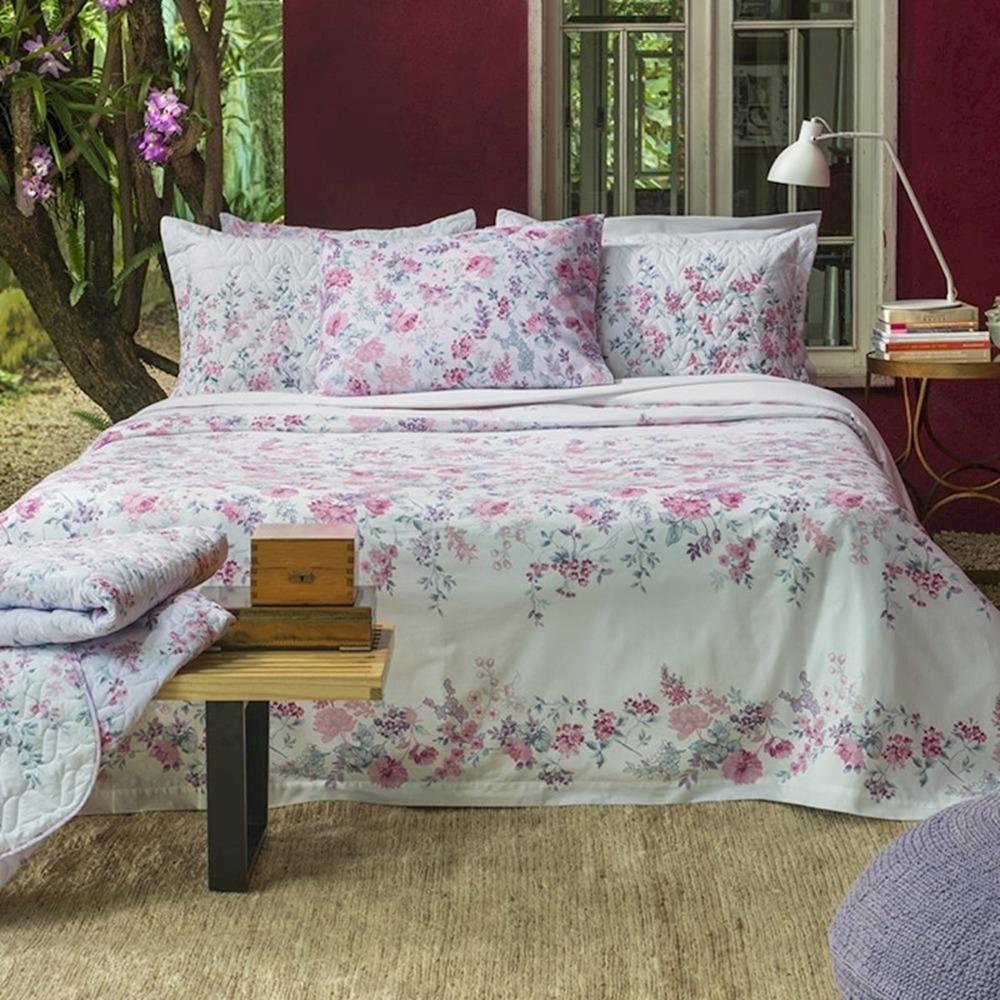 910c178ea8 jogo de lençol cama casal home design 150 fios santista. Carregando zoom.