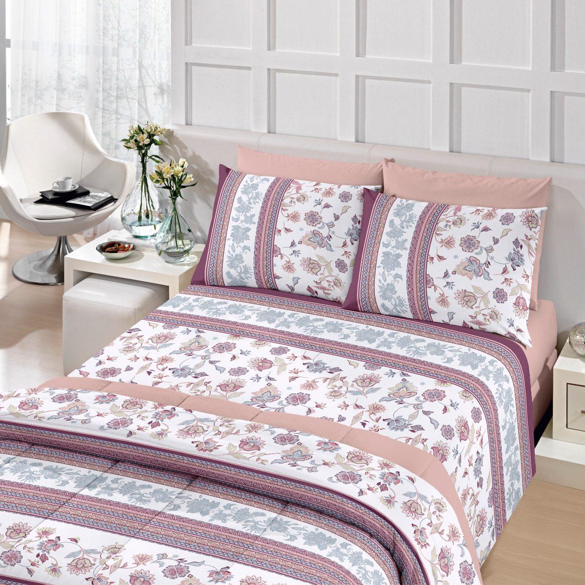 357e0dea61 jogo de lençol cama queen 4 peças 100%algodão royal santista. Carregando  zoom.