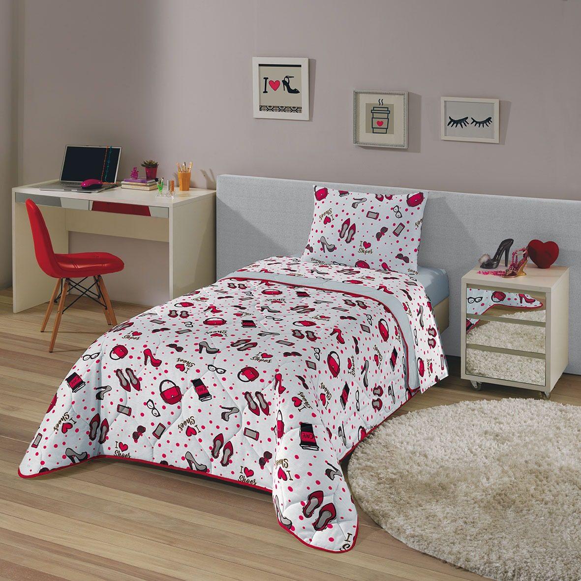 e00cd880a2 jogo de lençol cama solteiro fashion jovem 3pçs 80% algodão. Carregando  zoom.