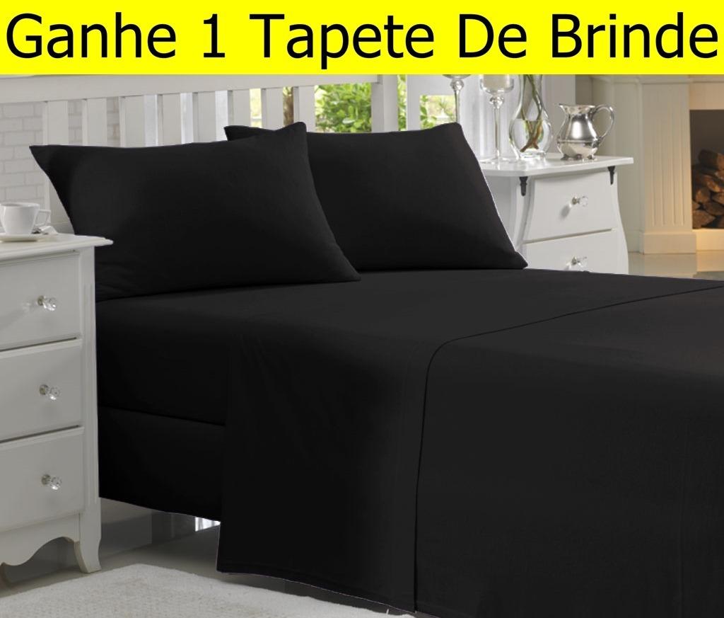 7ee419d7cb jogo de lençol carinho queen 4 peças cama box. 9 Fotos