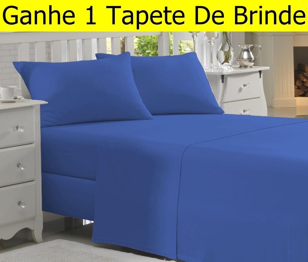abbc0e83c8 jogo de lençol carinho queen 4 peças cama box. 10 Fotos