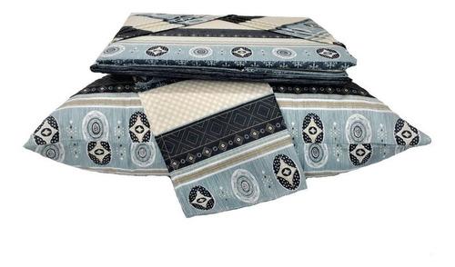 jogo de lençol casal para cama box 4peças sultan promoção