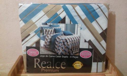 jogo de lençol com fronha 4 peças