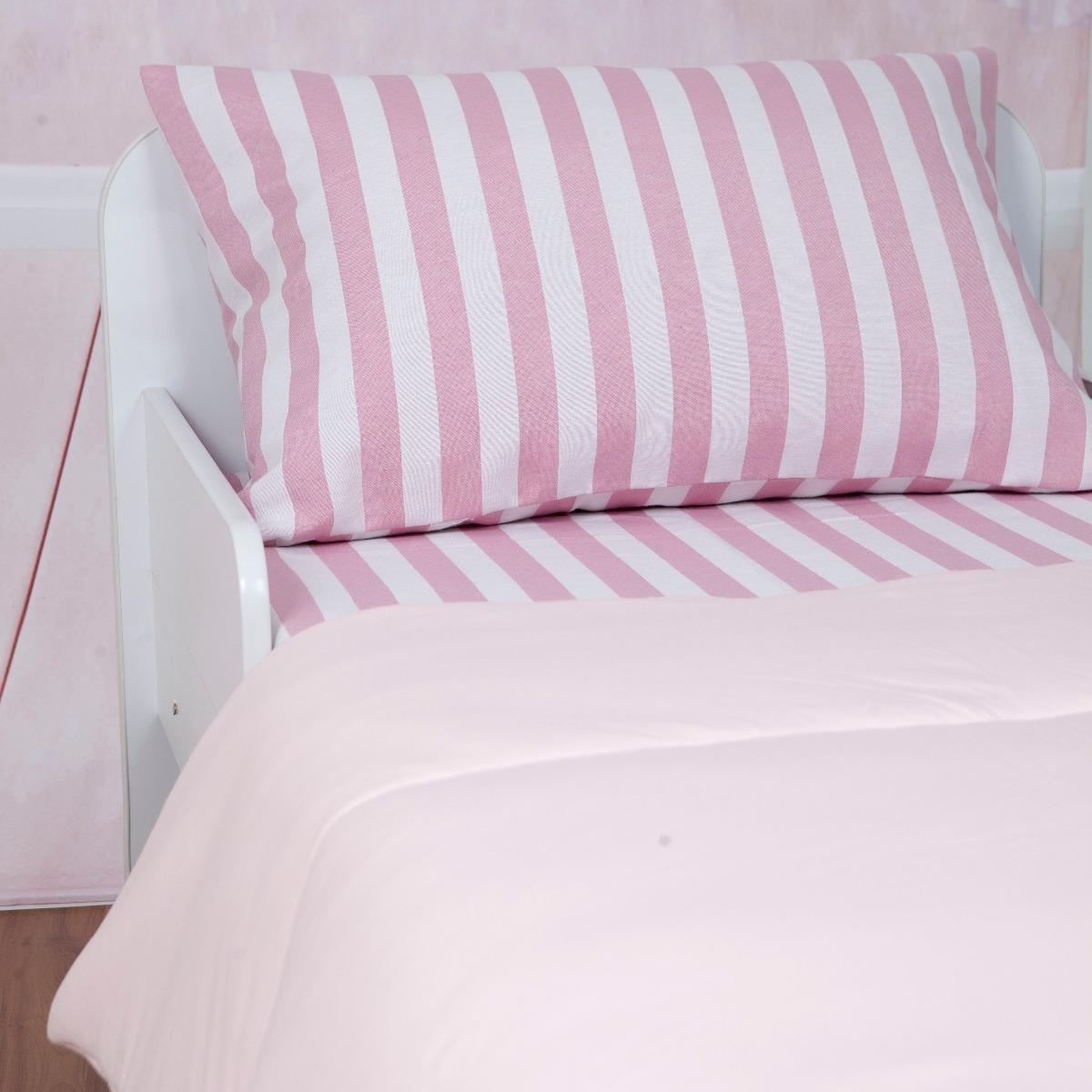 d3e8a28fd8 jogo de lençol e edredom mini cama malha rosa - arrumadinho. Carregando zoom .