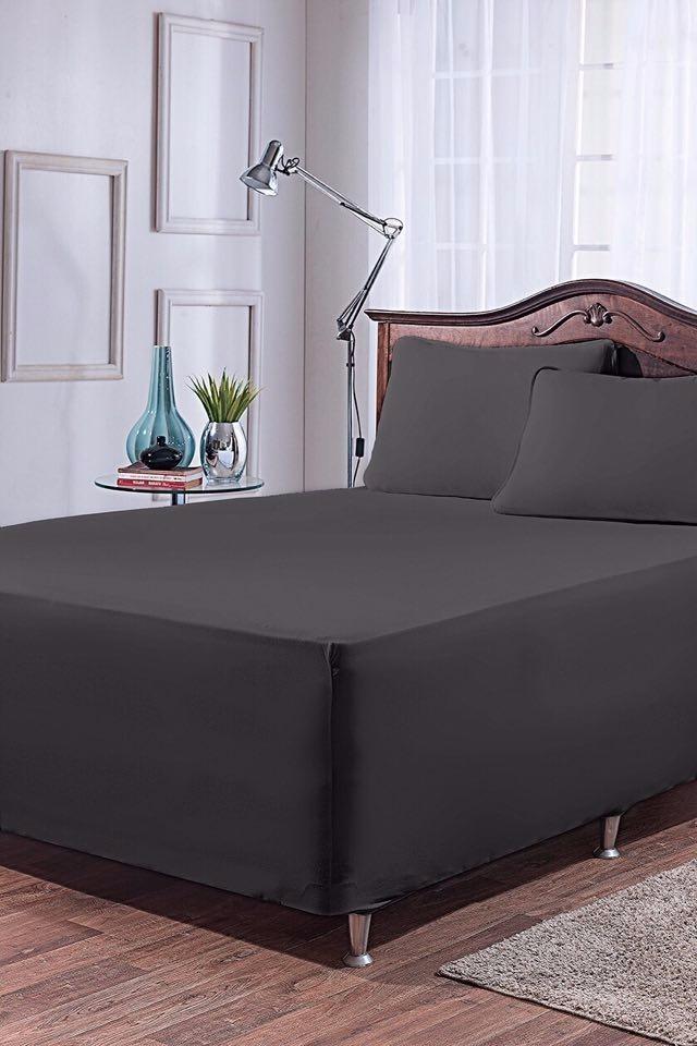 e2176343ce jogo de lençol preto casal padrão cama box 3 peças. Carregando zoom.