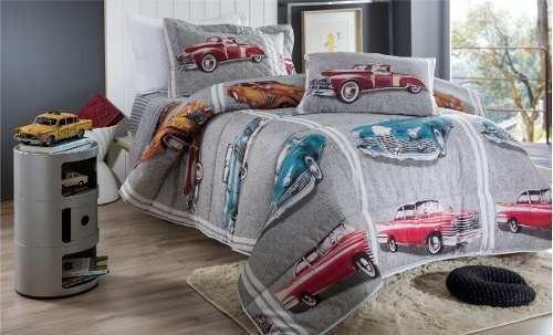 jogo de lençol solteiro infantil 3 peças cars box promoção