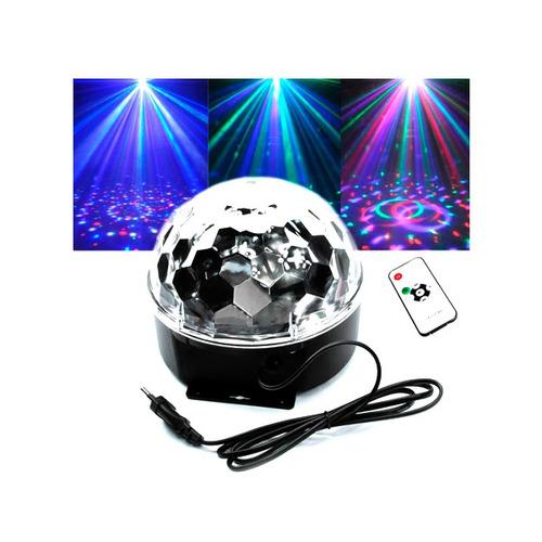 jogo de luz globo de festa pen drive usb / sd / mp3 luz bola