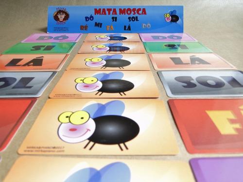 jogo de  música - mata mosca - nome da nota - mirka brinca