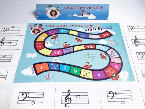 jogo de  música - tabuleiro musical - mirka brinca