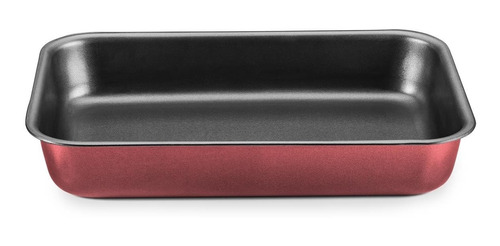 jogo de panelas 10 peças antiaderente alumínio 1.2mm cereja