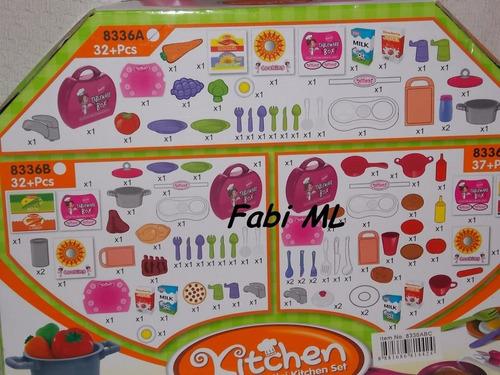 jogo de panelinhas cozinha infantil-casinha