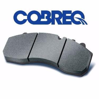 jogo de pastilhas de freio cobreq vw bora 2.0 8v 00 n-254