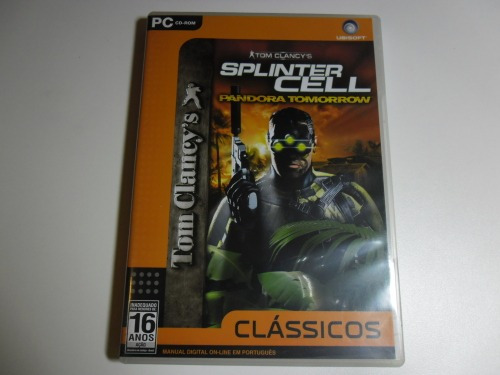 jogo de pc: tom clancy's splinter cell pandora tomorrow