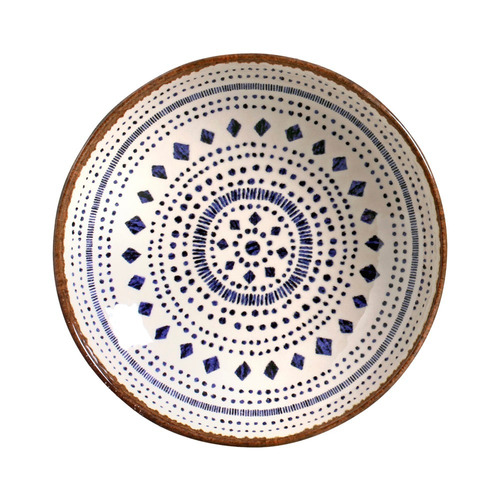 jogo de pratos fundos coup asteca porto brasil cerâmica 6 un