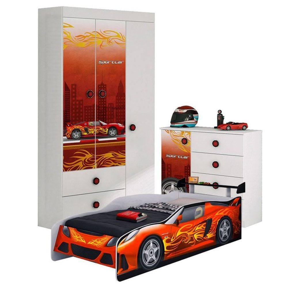2fb2e6a897 jogo de quarto carros sport car guarda roupa - tem frete. Carregando zoom.