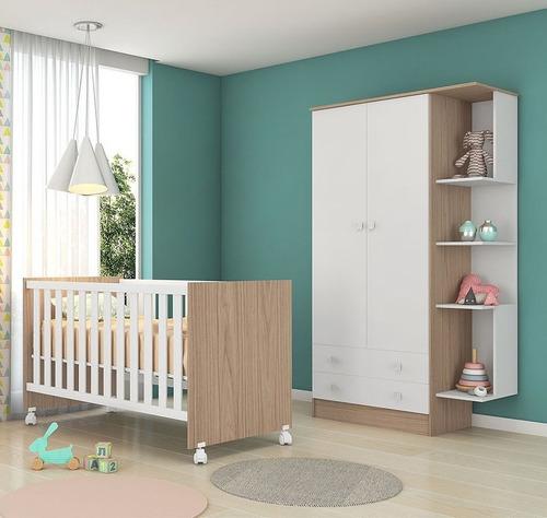 jogo de quarto infantil doce sonho 3 peças - qmovi