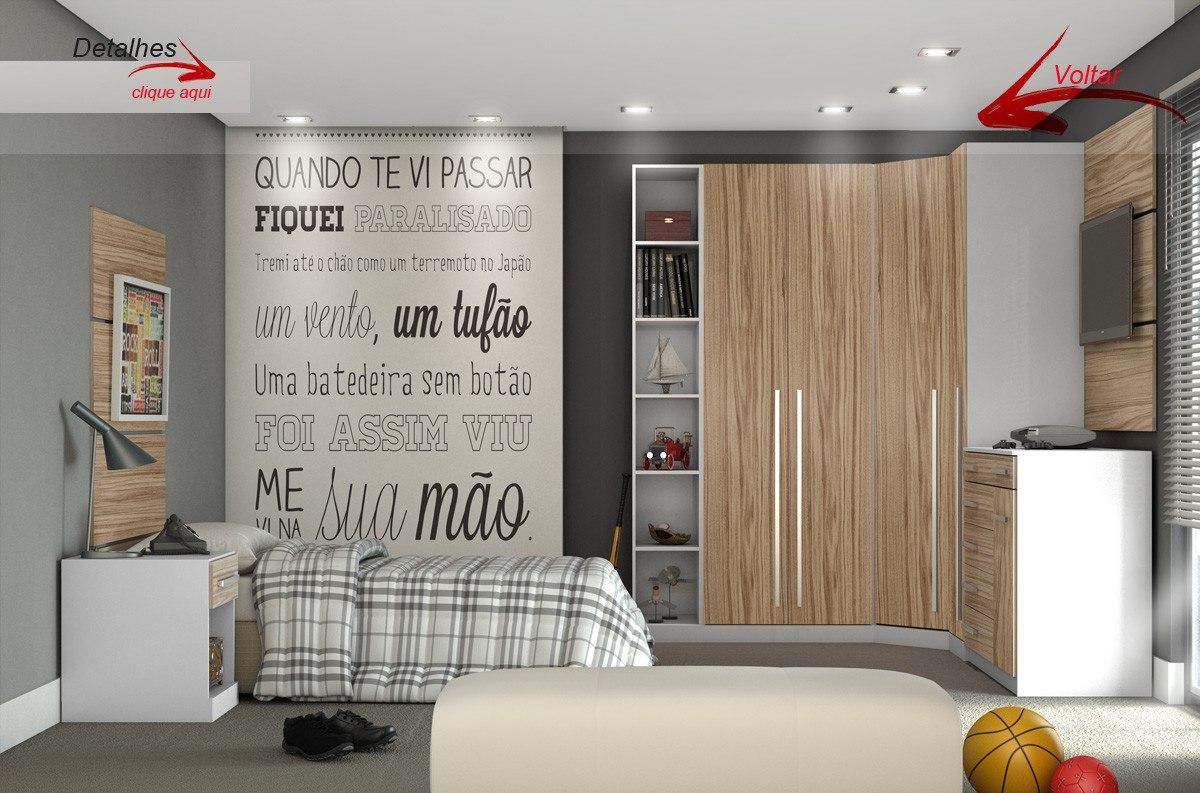 #AB7A20 Quarto E Banheiro No Mesmo Ambiente ~ jogo de quarto modulado solteiro  230 Janelas De Vidro Para Quarto Mercado Livre