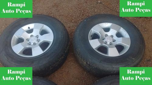 jogo de roda aro 16 frontier sel sem pneus