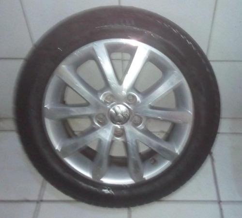 jogo de roda com pneu pirelli jetta 205 * 55* r 16* 91v