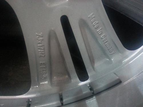 jogo de rodas 17  nova mercedes classe c180 2016 originais
