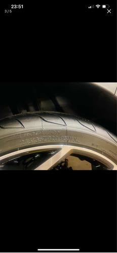 jogo de rodas aro 20 com pneus novos,rodou apenas 800 km