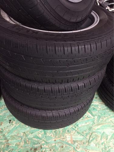 jogo de rodas e pneus original crv 2010 225/65 r 17