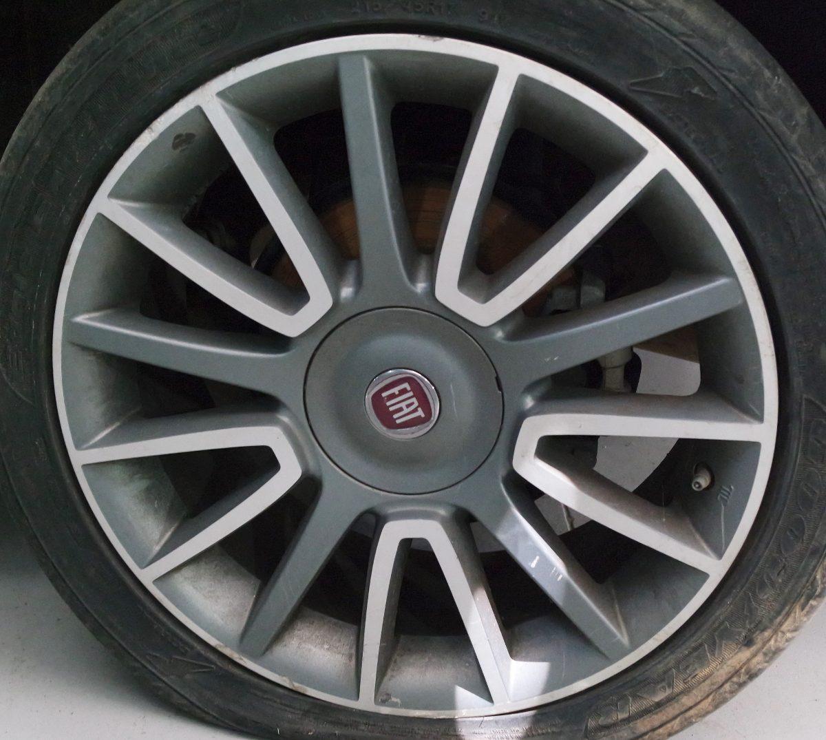 jogo de rodas fiat bravo punto palio linea aro 17 s pneus r em mercado livre. Black Bedroom Furniture Sets. Home Design Ideas