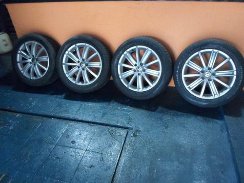 jogo de rodas hyundai tucson com pneus