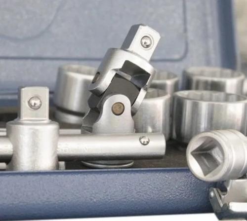 jogo de soquete 25 peças 1/2 pol. de 10 a 32mm gedore