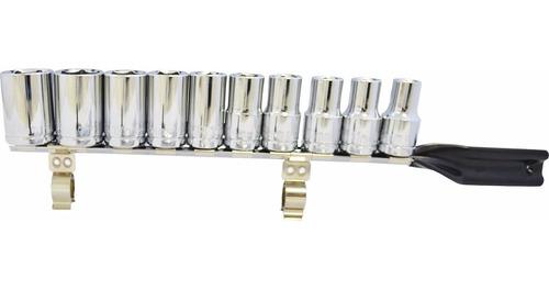 jogo de soquete milimetro 10 a 24mm irwin - super oferta!