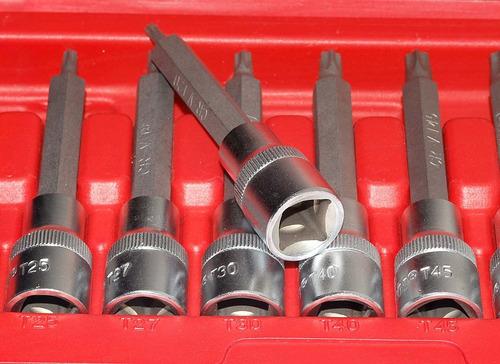 jogo de soquete torx macho com 9 peças - site do mecanico