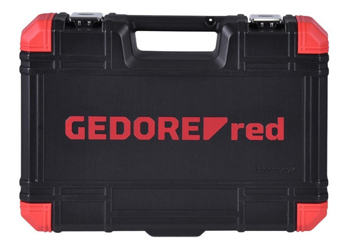 jogo de soquetes 1/2  24 pcs 10 a 32mm gedore red r69013024