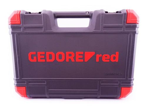 jogo de soquetes gedore red sextavado 1/2 com 24 peças r69003024