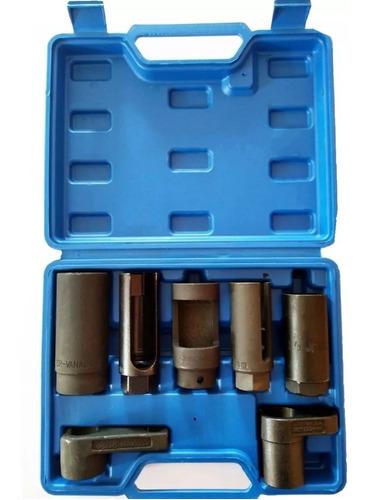 jogo de soquetes para sensor de oxigênio 7 peças