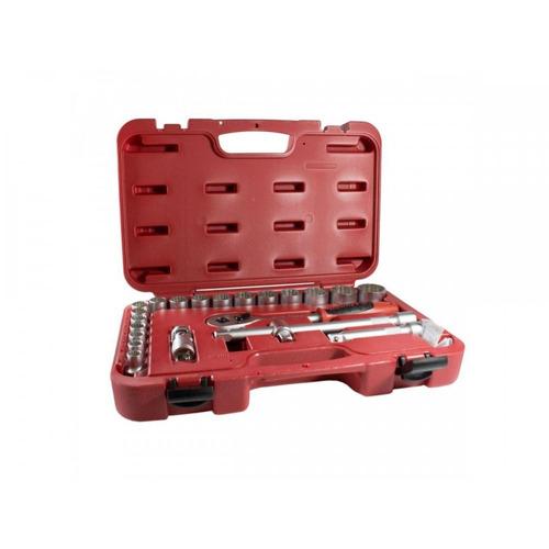 jogo de soquetes robust multi-lock 10-32mm 22 peças