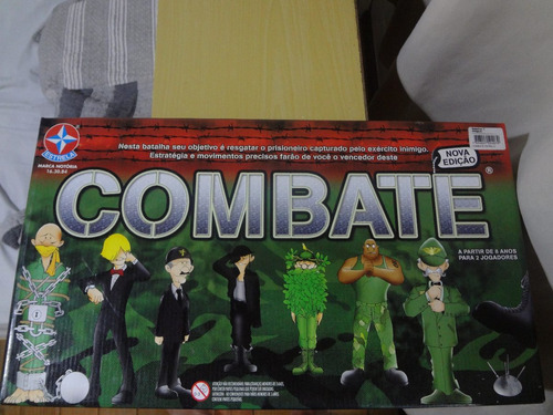 jogo de tabuleiro combate estrela