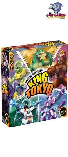 jogo de tabuleiro - king of tokyo