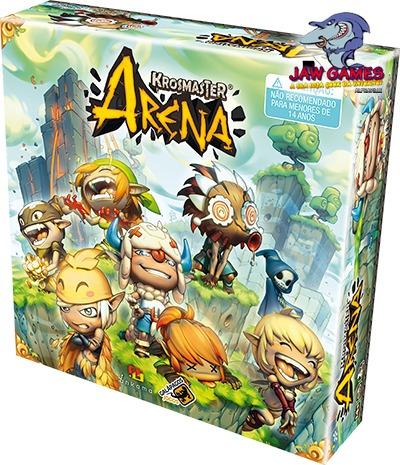jogo de tabuleiro - krosmaster arena
