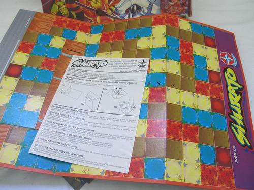 jogo de tabuleiro - shurato  - estrela - anos 90