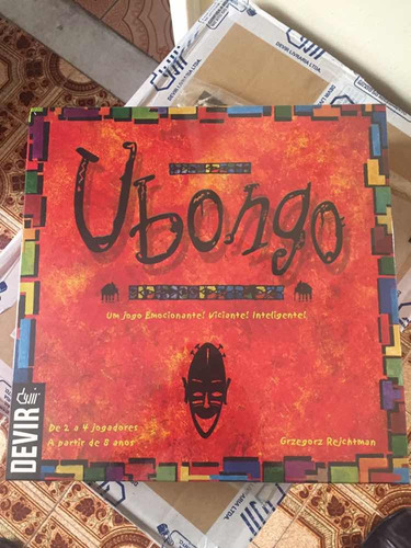jogo de tabuleiro ubongo - devir - bonellihq l18