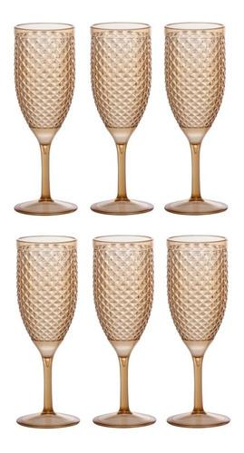 jogo de taça de champanhe luxxor paramount 350ml 6 peças