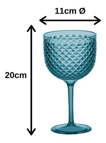 jogo de taça gin tônica 600ml luxxor paramount 12 peças