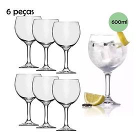 Jogo De Taça Para Gin 6 Peças Tonica 600 Ml Nadir