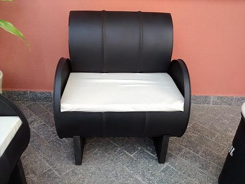 jogo de tambor sofá com mesa de centro