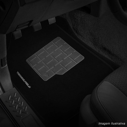 jogo de tapetes carpete parati track field g3 g4 preto logo