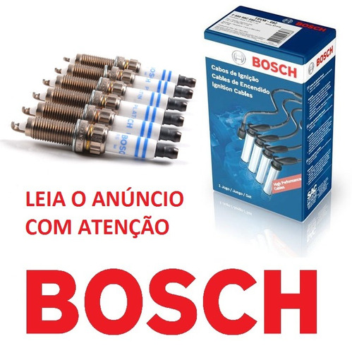 jogo de vela bosch sp39 fiat uno mille 1.0 54cv gnv 2002