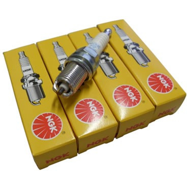 jogo de vela ngk para fiat uno 1.6 r / carb. 90 a 93 gasol