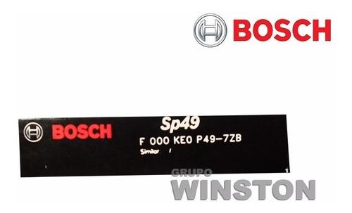 jogo de velas bosch renault clio duster logan sandero sp49